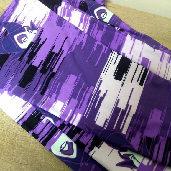 76f5cc9d48ada1 Lularoe Pants | Disney Villain Maleficent Purple Leggings | Poshmark